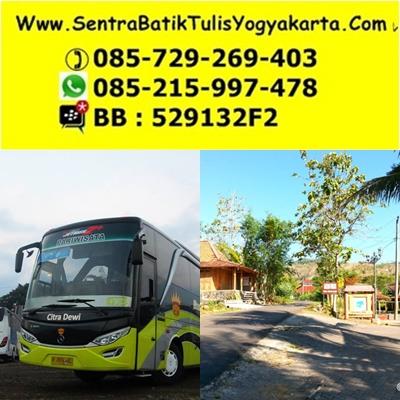 wisata pembuatan kerajinan batik tulis yogyakarta