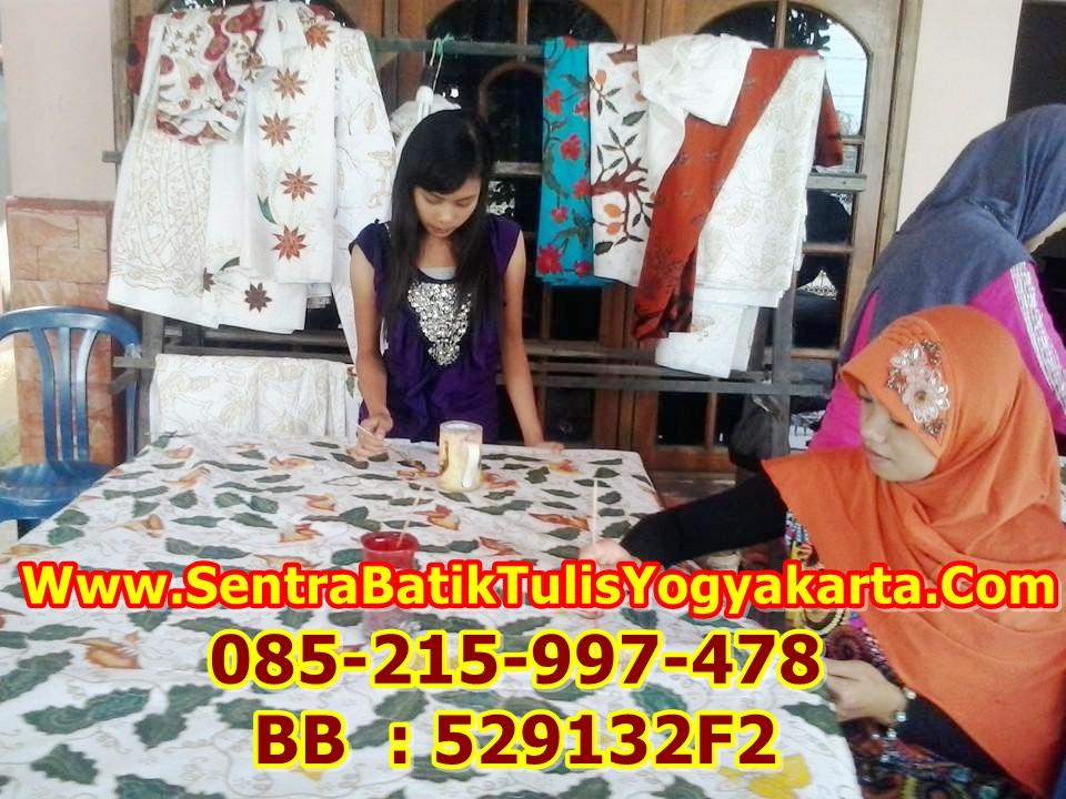 Pelatihan Membatik Yogyakarta