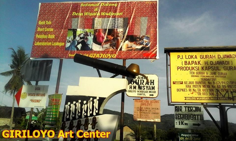 Akses Jalan Ke Kampung Batik Giriloyo