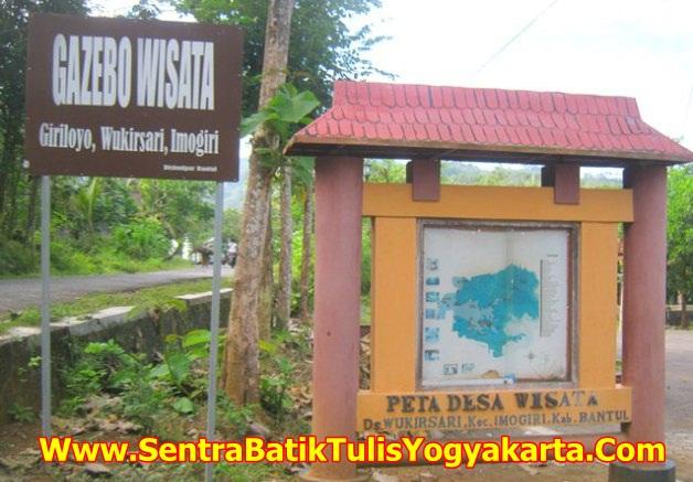 Gazebo Wisata Batik Yogyakarta