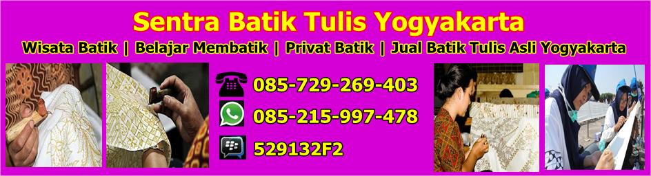 Sentra Batik Tulis Yogyakarta