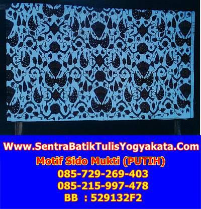 Sejarah dan penjelasan makna batik sidomukti asli solo dan yogyakarta
