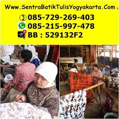 pengrajin batik tulis yogyakarta